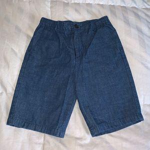NWOT - Land's End denim shorts - 14 slim